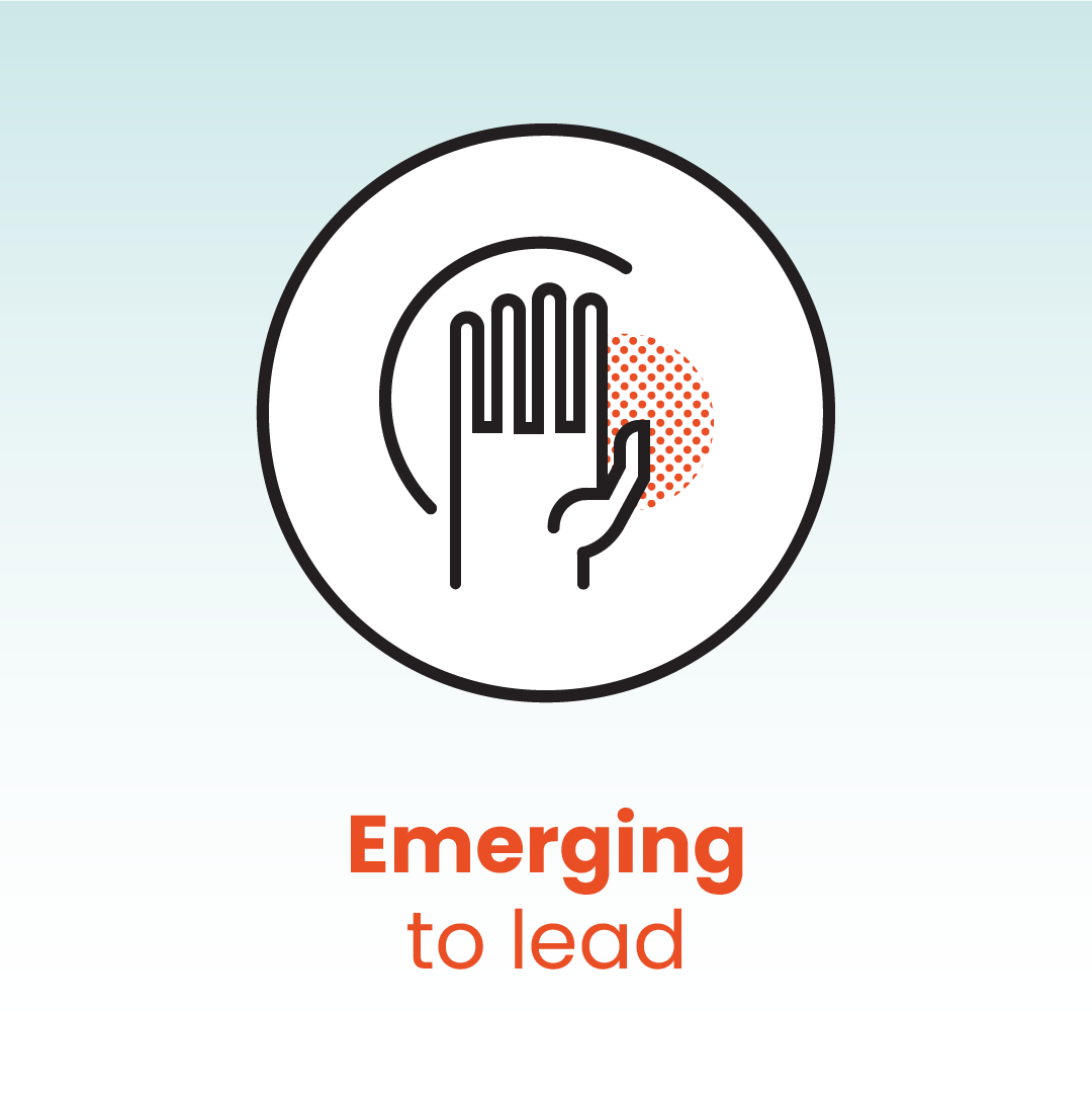 Emerging to lead